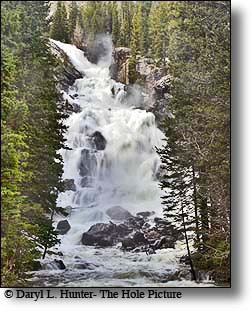 Hidden Falls, Cascade Canyon Trail, Grand Teton National Park