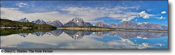 The Grand Tetons at Jackson Lake