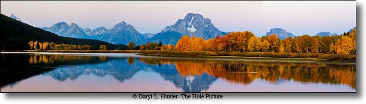 fall colors, oxbow bend, grand teton national park