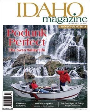 Cover Idaho Magazine - Fall Creek Falls, Swan Valley Idaho