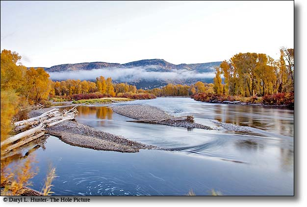 South Fork of the Snake River - fall