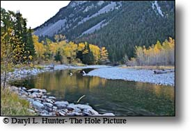 Fall on the Boulder River in southern Montana
