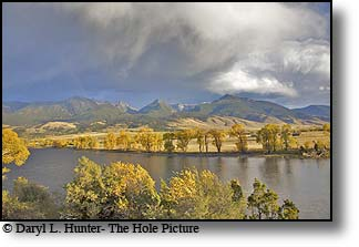 Rainbow, Yellowstone River, Paradise Valley, Montana