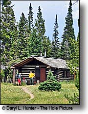 Heart Lake Patrol Cabin, Yellowstone National Park