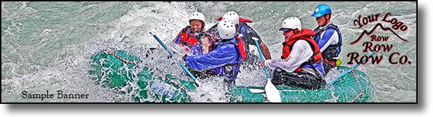 Whitewater Rafting advertising
