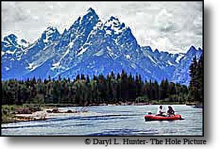 rafting Grand Teton National Park Jackson Hole Wyoming
