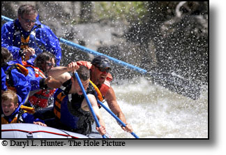 Yellowstone region rivers can provide big whitewater thrills.
