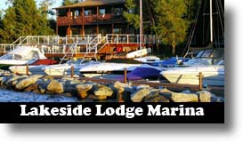 Lakeside Lodge Marina, Fremont Lake, Pinedale, Wyoming