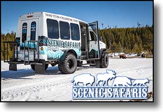 snowcoach on wheels