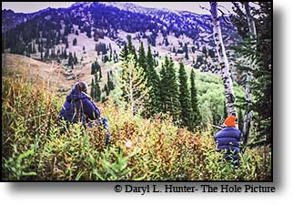 elk hunters Gros Ventre Mountains