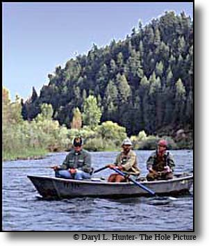 Dick Cheney fishing the South Fork