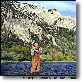 Jack Dennis Fly Fishing the South Fork of the Snake River