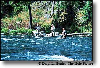 Fly-fishing Henrys Fork of the Snake River