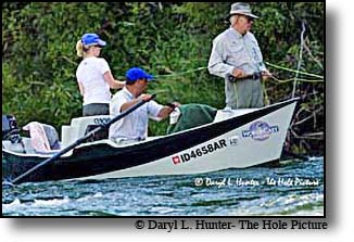Dick Cheney fishes the Southfork as often as he can. He owns a home in Jackson Hole Wyoming 50 miles away.
