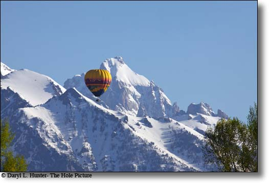 Hot Air Ballooning Jackson Hole Wyoming