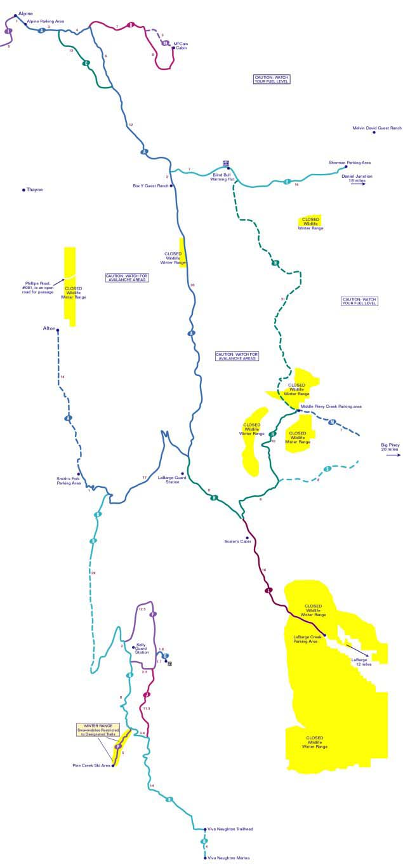 Grey S River Snowmobile Map