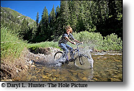 Mountain Biking, Rainey Creek, Swan Valley Idaho