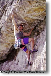 Rock Climber Bian, The Shield in Hoback Canyon