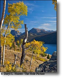 Fall Green River Lake, Square Top Mountain, Wind River Mountains, Pinedale Wyoming