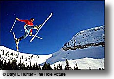 ski jumping at Grand Targhee