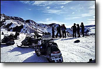 Wyoming Snowmobiling