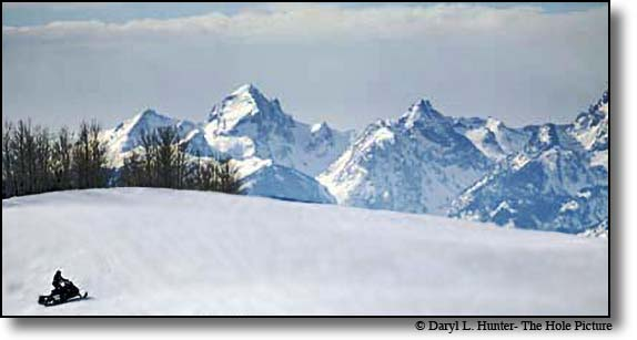 Snowmobiling Jackson Hole Wyoming Guides Rentals Maps Towgotee Pass Gros Ventre