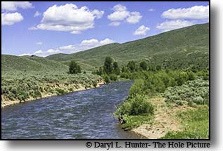 The Smiths Fork in the Southern Wyoming Range