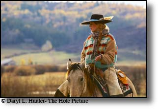 Working cowgirl, cydnie clark, star valley, Wyoming