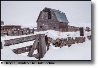 winter, snow covered barn, farm, freedom, wyoming, star valley
