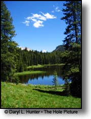 Wyoming Range  Pond